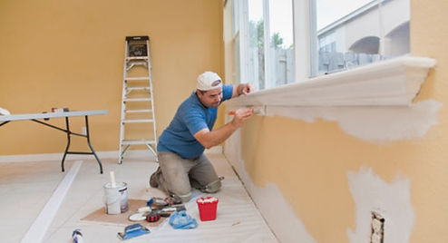painting services work done by a profess