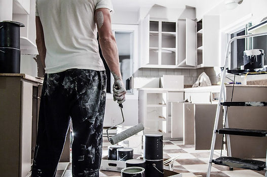 Norfolk Virginia kitchen remodeling being done by a handyman