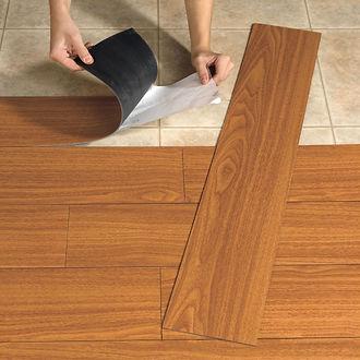 flooring installation service work done