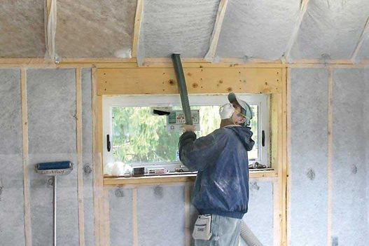 cellulose insulation services work done in columbia maryland