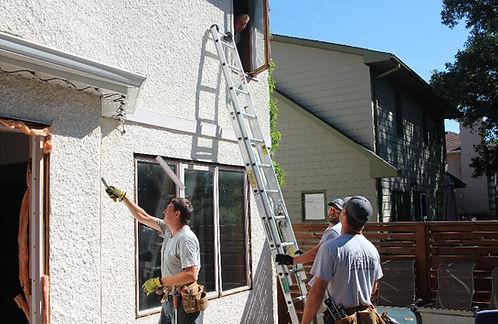 Mobile Alabama handyman working on window installation jobs