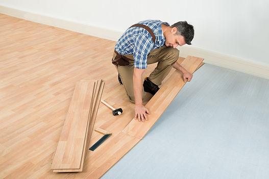 professional handyman working in Hampton