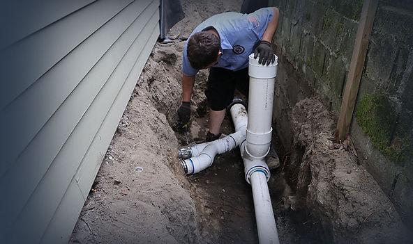 Norfolk Virginia plumbing being done by a handyman