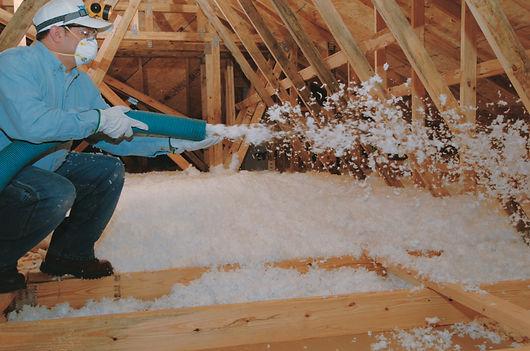 Silver Spring MD blown in insulation ser