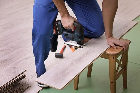 handyman working in Corona California on generic repair services