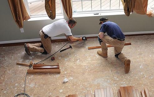 flooring installation services in Hampto