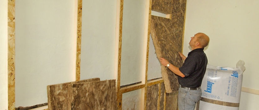 wall insulation service work done by a t