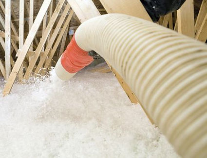 columbia maryland insulation expert working in attic