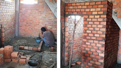 handyman working in Norfolk Virginia on bathroom remodeling services
