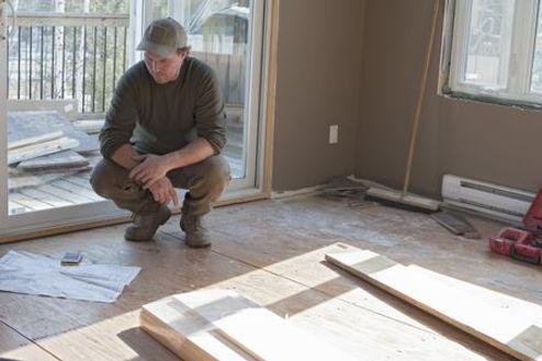 handyman working on generic repair services in Norfolk Virginia