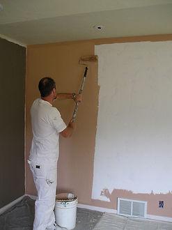 Ellicott City Maryland painter working o