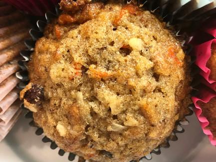 Morning Glory Muffins (Gluten free optional)