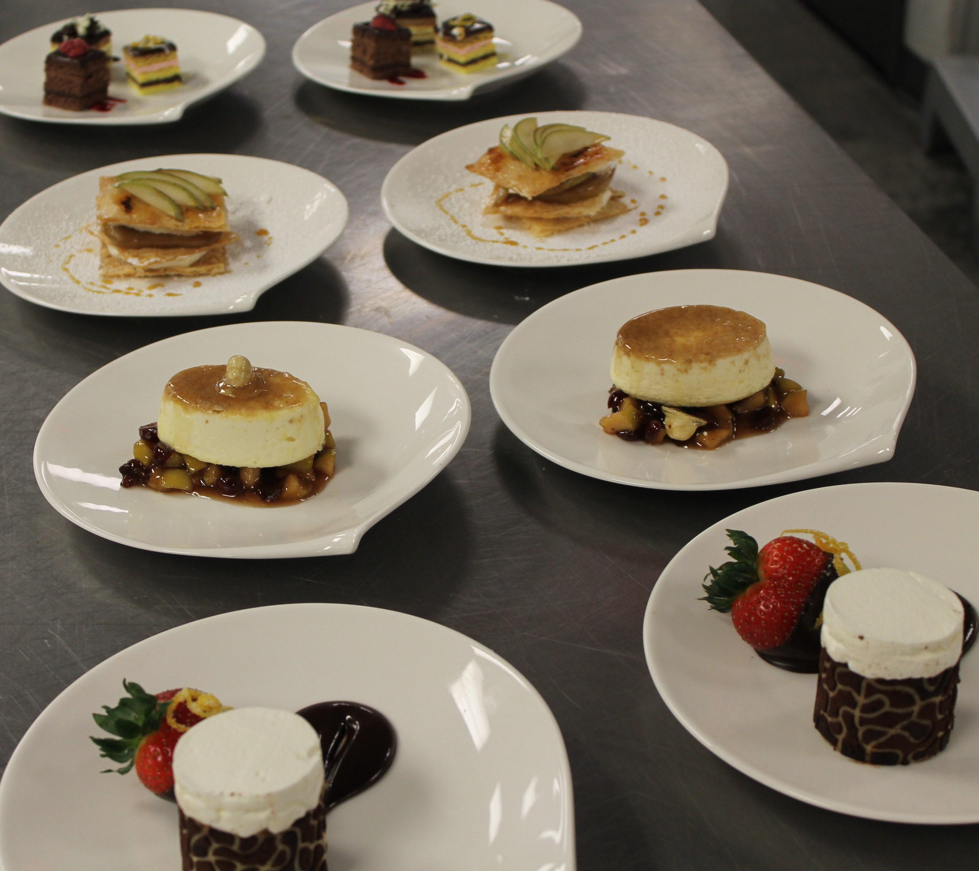 ChefMartin.Net Plated Flan