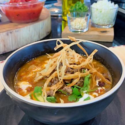 Vegan Mexican Tortilla Soup