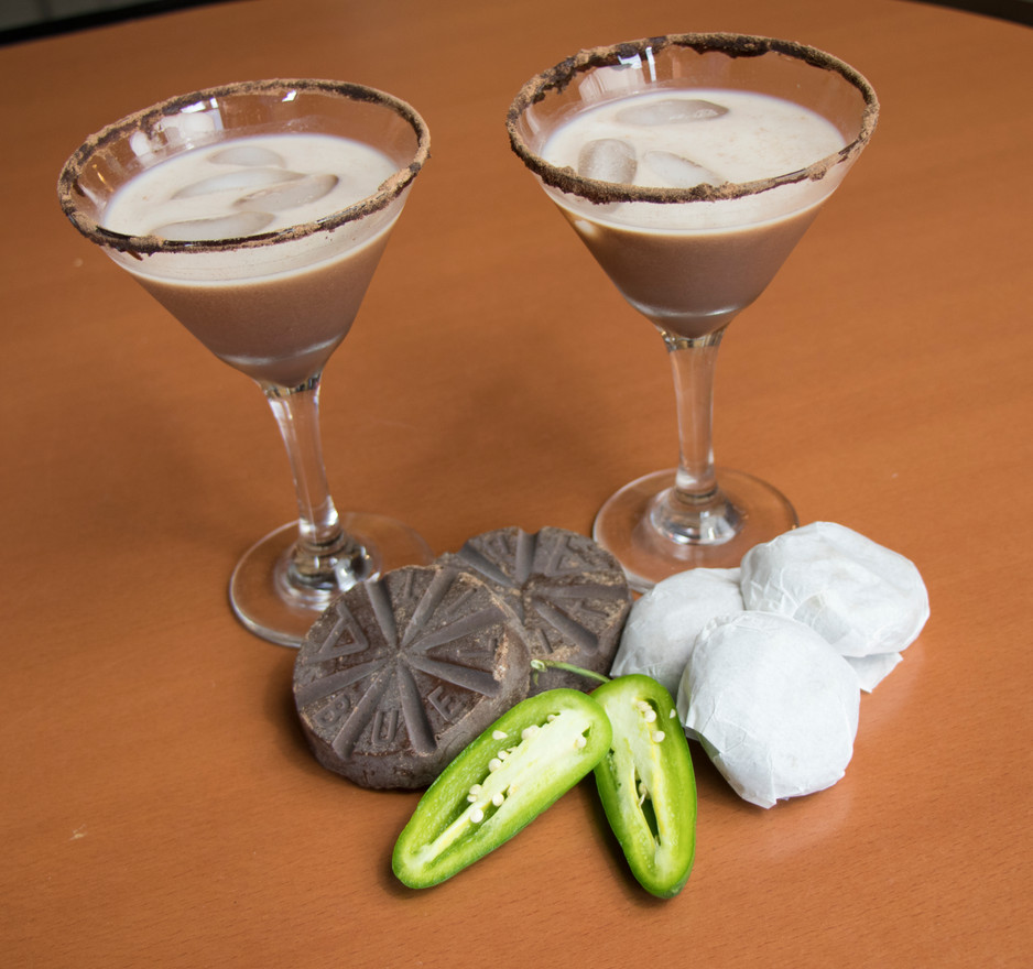 Spicy Chipotle Mexican Chocolate Martini