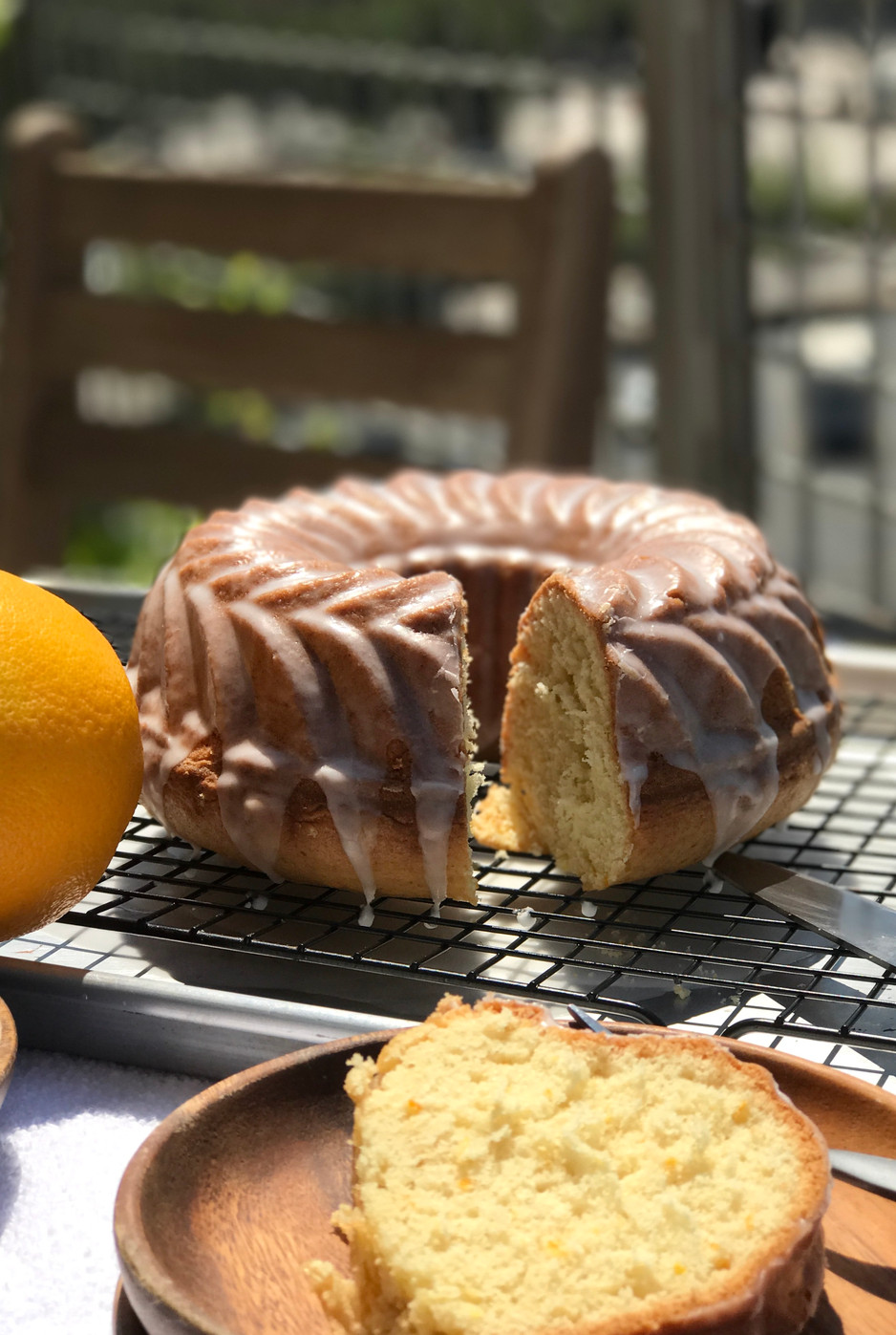 Easy Summer Orange Cake