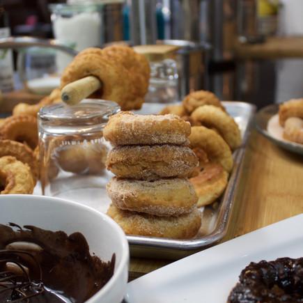 Mama's Mexican Cinnamon Homemade Donuts