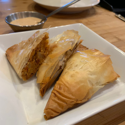 Mexican Pork Chorizo and Potato Mini Turnovers