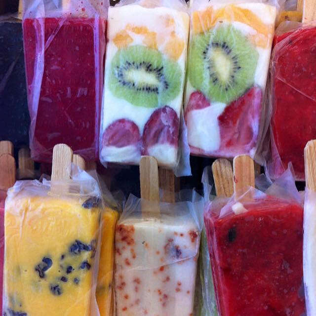 Mexican Paletas de Hielo (Fruit Frozen Bars - Popsicles)