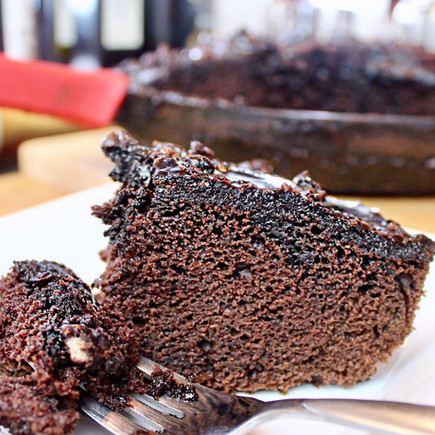NOT Your Grandma's Chocolate Cake