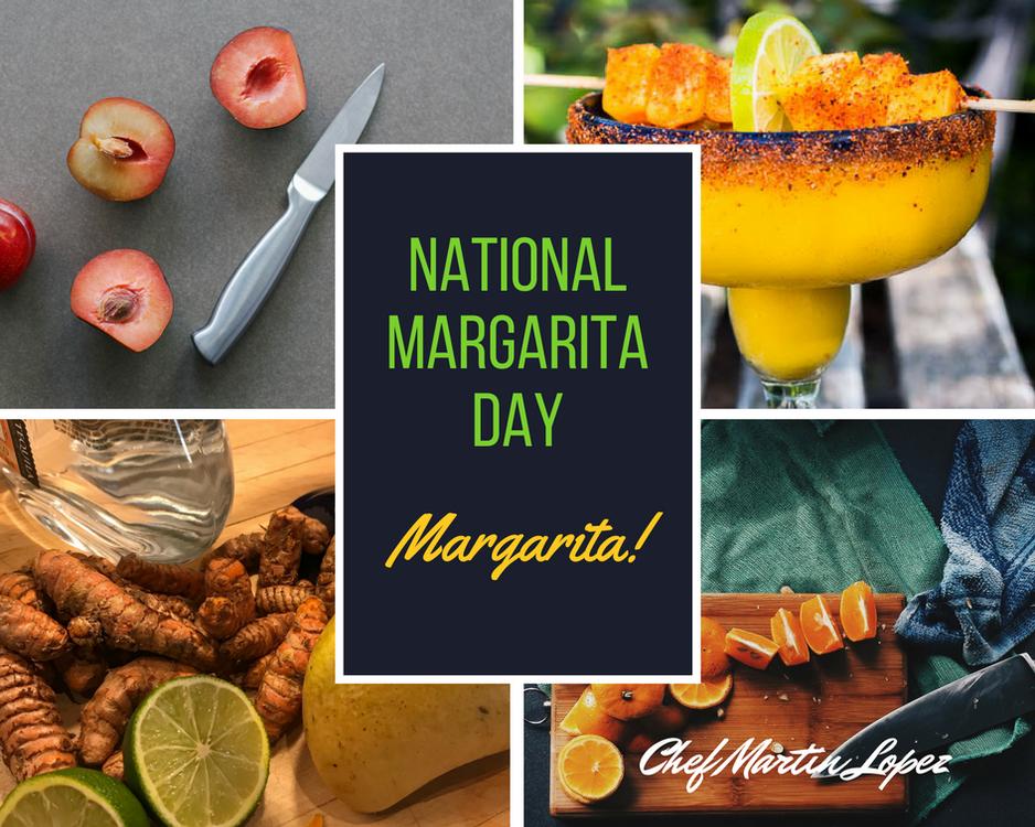 Spicy Mango & Turmeric Margaritas