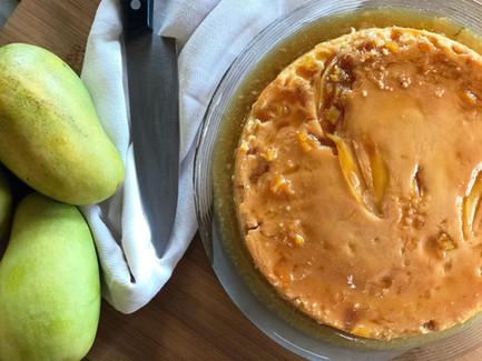 Mango Coconut Flan