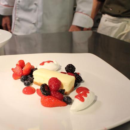 Aerated Cheesecake