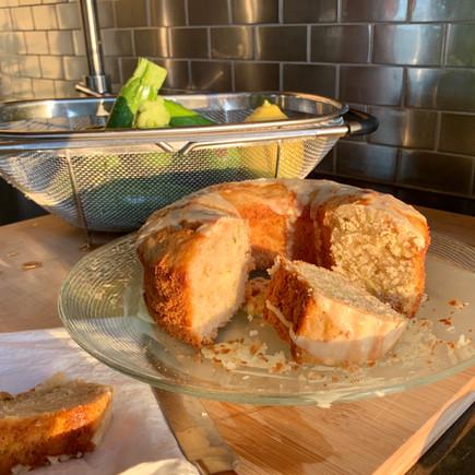 Zucchini and Lemon Sweet Bread