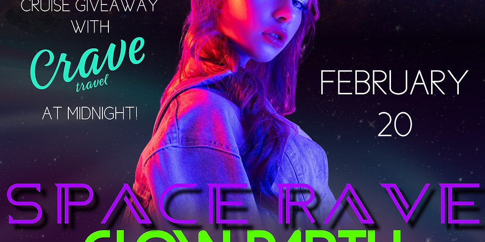 SPACE RAVE Glow Party!