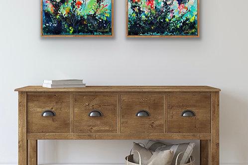 Opal garden - pair