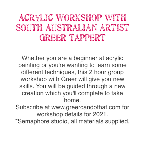 Group Acrylic Workshop