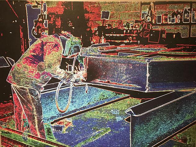 Snake Steel Fabricator, Steel Fab Shop, Welding art, Steel Nashville