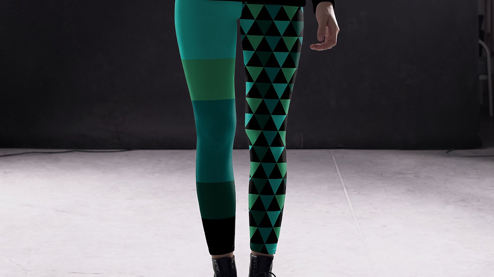 Geometrio Leggings, Capris and Shorts