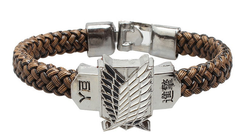 Anime Attack on Titan Bracelet Men Wristband