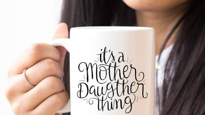 It's A Mother Daughter Thing - Funny Coffee Mug -