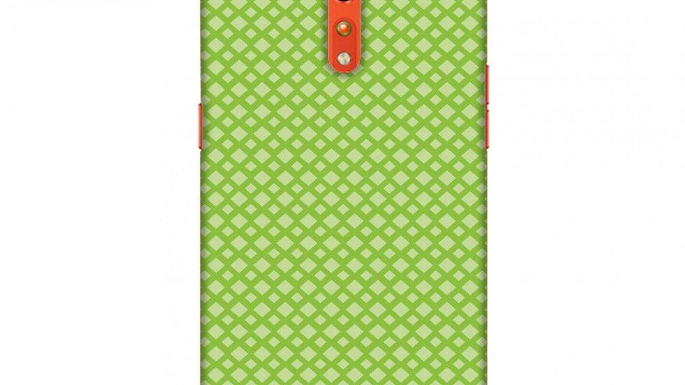 Carbon Fibre Redux Pear Green 7 Slim Hard Shell Case For Oppo Reno Z