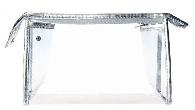 Transparent PVC Makeup Bag High Quality Beautician