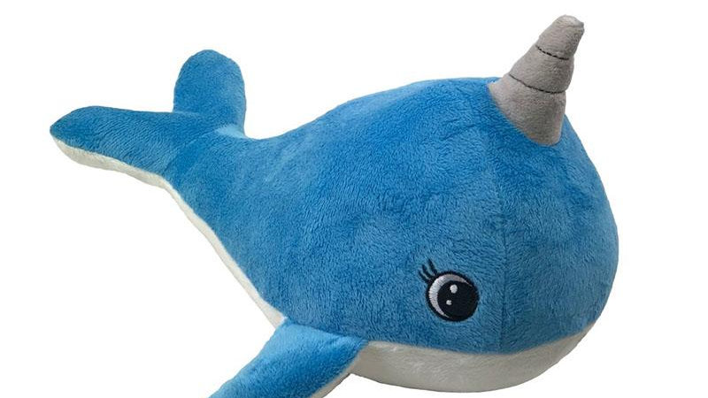 Narwhal Dog Toy