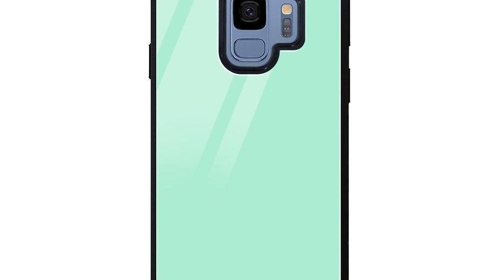 Mint Green Glass Case Cover For Samsung Galaxy S9