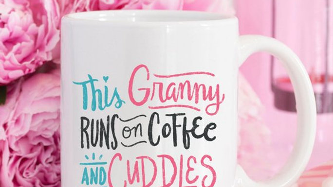 Coffee Mug, This Granny Runs On Coffee And