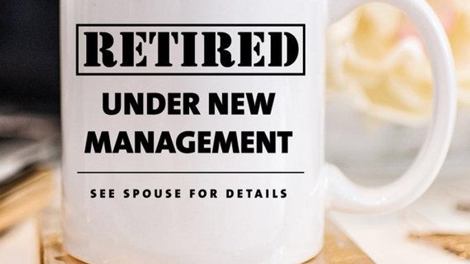 Funny Retirement Coffee Mug Gift, Funny Retired,