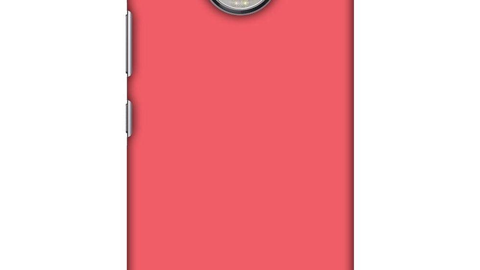 Amaranth Red Slim Hard Shell Case For Motorola Moto G5s Plus