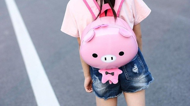 Fashion Backpack Girls Boys Kids Animal Cute