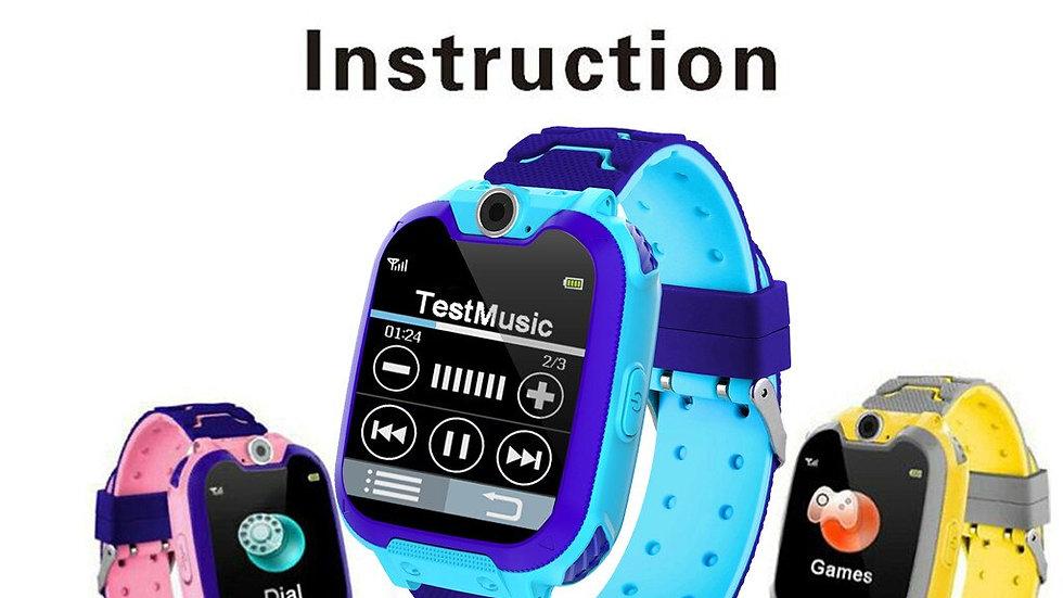 Kids 1.44 Inch Intelligent Two-way GSM Audio Alarm