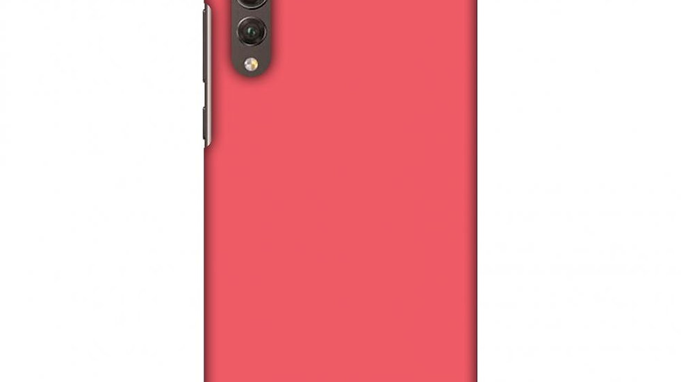 Amaranth Red Slim Hard Shell Case For Huawei P20 Pro