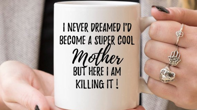 Mom Mug, Mom Gift, Gift For Mom, New Mom Gift,