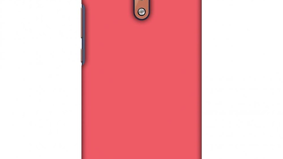 Amaranth Red Slim Hard Shell Case For Nokia 2.1