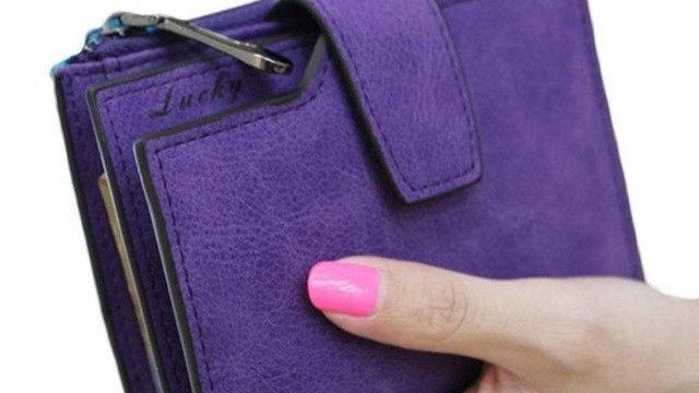 Women Purse Solid Color Mini Grind Magic