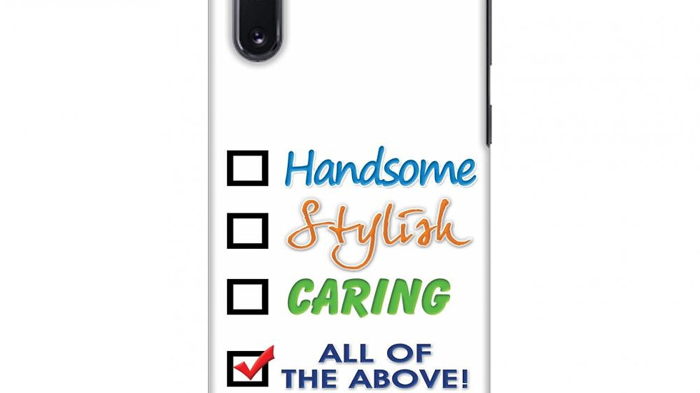Handsome Slim Hard Shell Case For Samsung Galaxy Note10