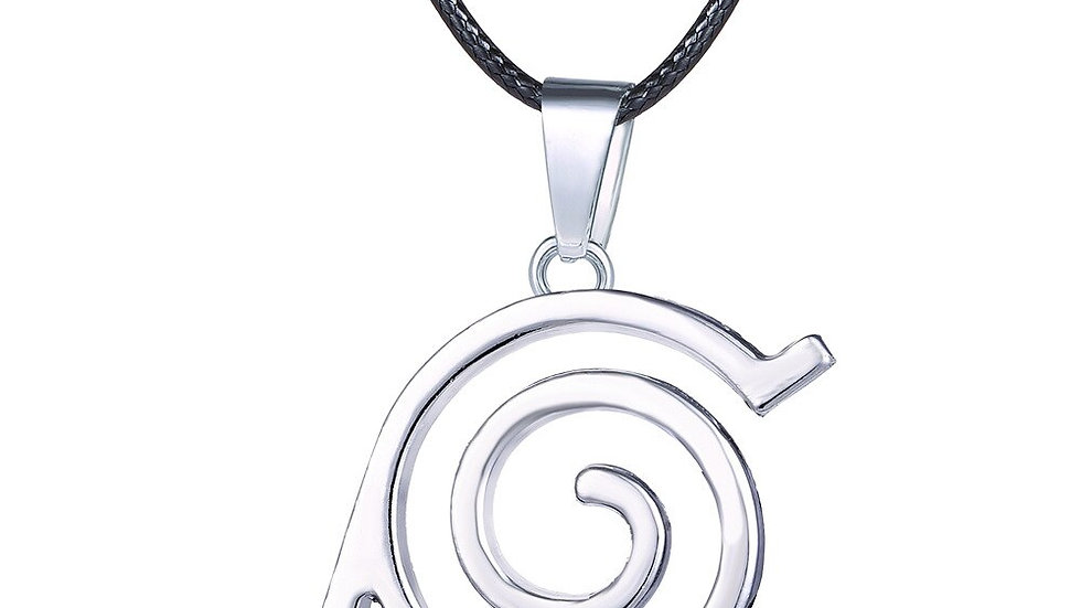 Naruto Necklaces & Pendants Mens Necklace Silver